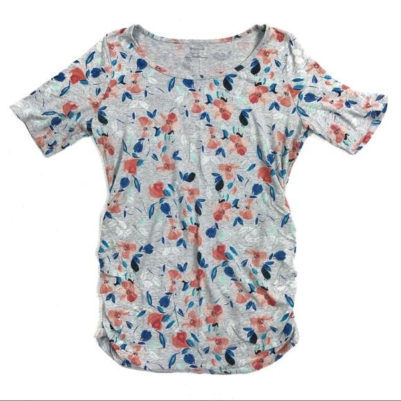 Motherhood Maternity Tops - Motherhood Maternity Large Floral T-Shirt